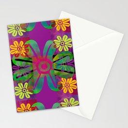 Paracas flowers II Stationery Cards