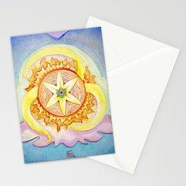 Triskelion sunshine Stationery Cards