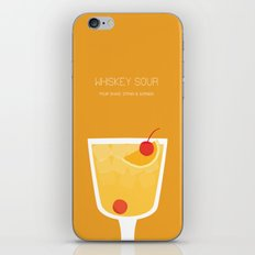 Whiskey Sour - Alcohol iPhone & iPod Skin