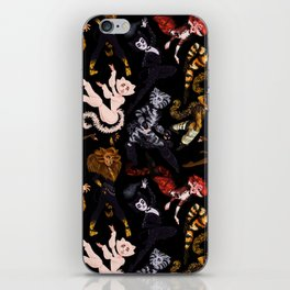 Practical Cats iPhone Skin