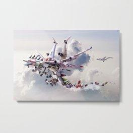 Dragon Airways Metal Print