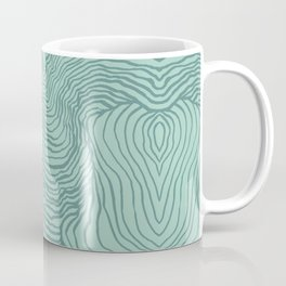 Perception in Mint Green Coffee Mug