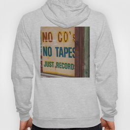 Just Records Hoody