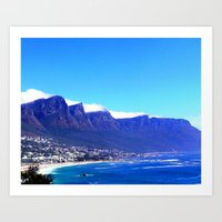 south africa Art Prints featuring South Africa Impression 10 by Art-Motiva