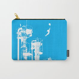 Factory Jump (white) Carry-All Pouch
