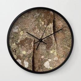 Megalith Stone Texture Wall Clock
