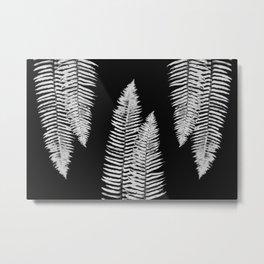 Pacific Northwest Silver Fern Forest Adventure Metal Print