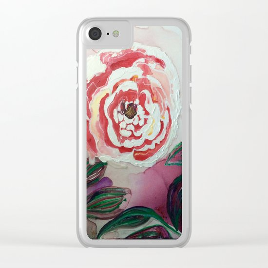 Mother's Day Flowers, Flowers That Will Last Forever Clear iPhone Case