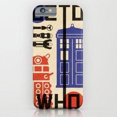 Doctor Who Bauhaus Movement Design Slim Case iPhone 6s