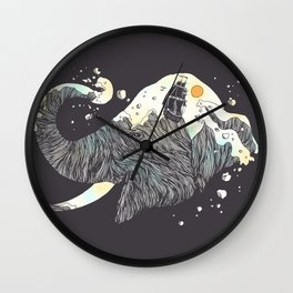 The Grey Gust and the Savage Sea Wall Clock