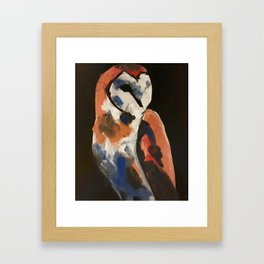 Barn Owl 1 Framed Art Print
