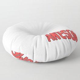 Funny College Freshman Floor Pillow