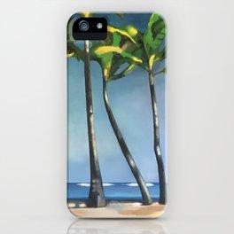 Palms Dancing iPhone Case