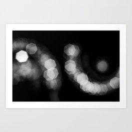 Magical Lights Art Print