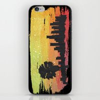 dodgers iPhone & iPod Skins featuring Sunset Blvd. by Nicko-Suave Art
