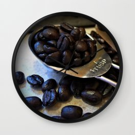 Coffee Beans!!! Wall Clock