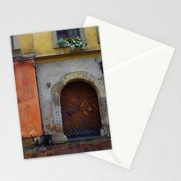 Beaty of Krakow's Kanonicza street Stationery Cards