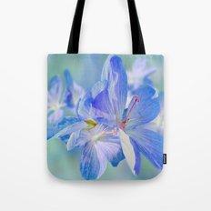 FLOWERS - Geranium endressii Tote Bag