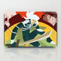 metal gear solid iPad Cases featuring Metal Gear Solid 2: Sons of Liberty by Monserratt