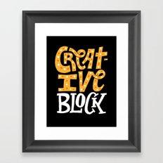 Creative Block Framed Art Print