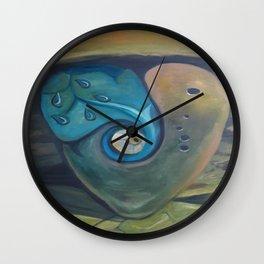 Heart by Lu Wall Clock