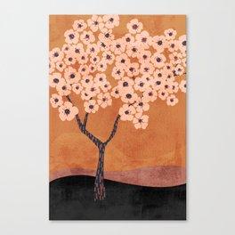 Janie's Pear Tree - Neutral Canvas Print