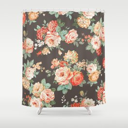 elise shabby chic Shower Curtain