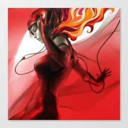 Pepper Groove Canvas Print