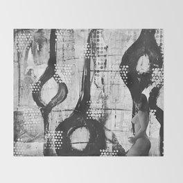 Abstract Experimentation V 1.0 Throw Blanket