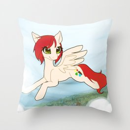 Clearing the Sky Throw Pillow