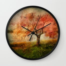 Sprinkled With Spring Wall Clock