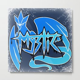 Team Mystic Tag Art Metal Print