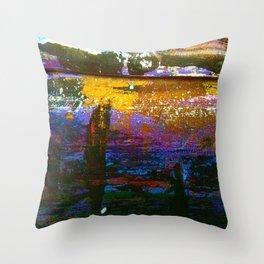 Easel Abstract 1 Throw Pillow