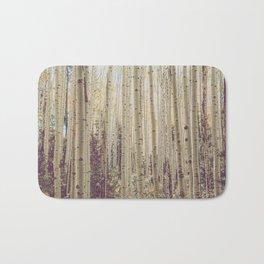 Aspen Forest Rustic Photography Bath Mat