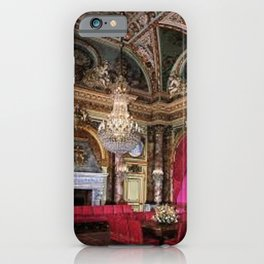 Newport Mansions, Rhode Island - The Breakers - Grand Dining Room by Jeanpaul Ferro iPhone Case