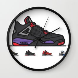 aj4 Hand Painted Wall Clock