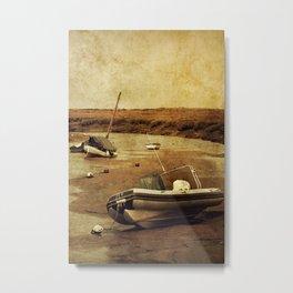 Blakeney Boats 2 Metal Print