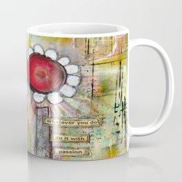 Mixed Media Collage 2 Coffee Mug