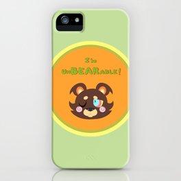 I'm UnBEARable .:CITRUS:. iPhone Case