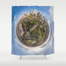 Houston is out of this world! Shower Curtain
