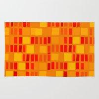 mosaic Area & Throw Rugs featuring mosaic by Ioana Luscov