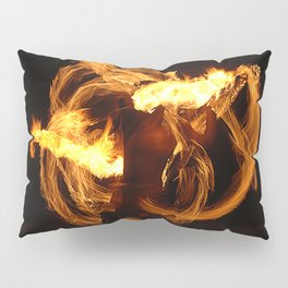Fire Dancer Pillow Sham