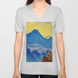 Milarepa, The One Who Harkened - Digital Remastered Edition Unisex V-Neck