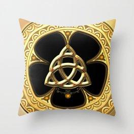 Decorative celtic knot Throw Pillow