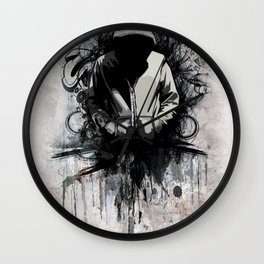 Hoodie Wall Clock