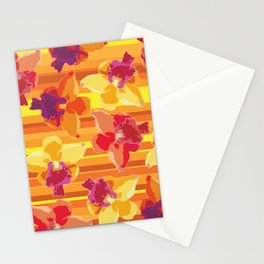 Fluor Flora - Arancio Stationery Cards