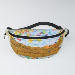 Still Life with Fruity Pebbles French Toast Fanny Pack