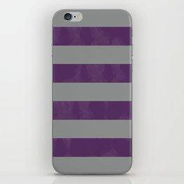 Purple & Grey Stripes   Digital Design   Pattern iPhone Skin