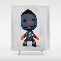 Sackboy (Henry Melton) Shower Curtain