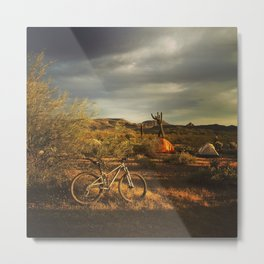 Table Mesa Metal Print